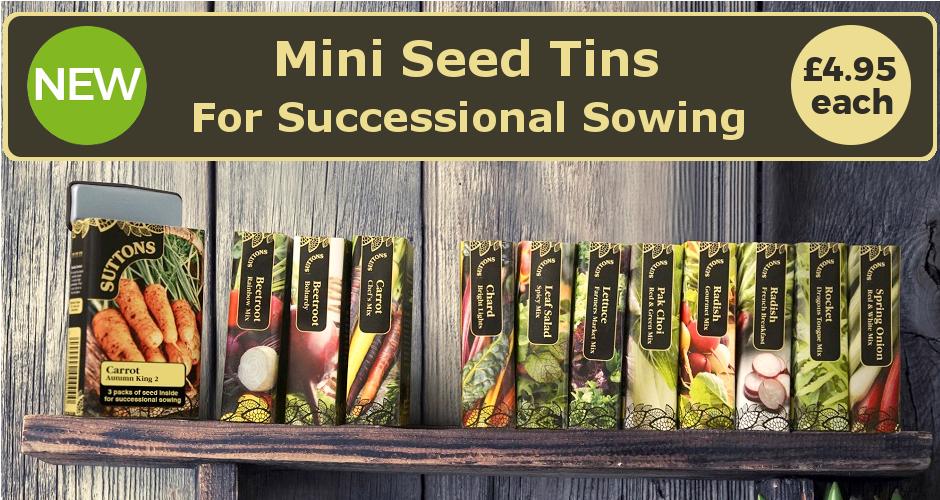 Mini Seed Tins