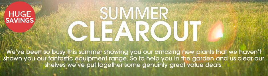 Summer Clearout Deals