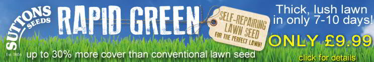 Sutton's Rapid Green 2 Lawn Seed