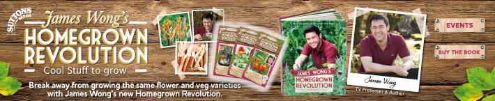 James Wong seeds and plants New and exclusive to Suttons Seeds