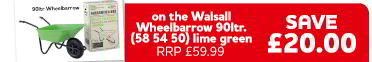 £20 off Walsall Wheelbarrow