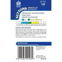 Anagallis Seeds - Blue Pimpernel