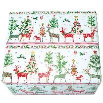 Festive Reindeer Wrapping Paper