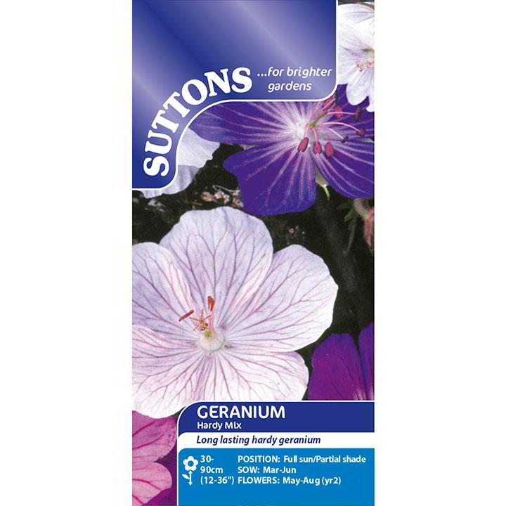 Geranium Seeds - Hardy Mix