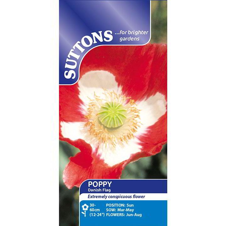 Poppy Seeds - Danish Flag