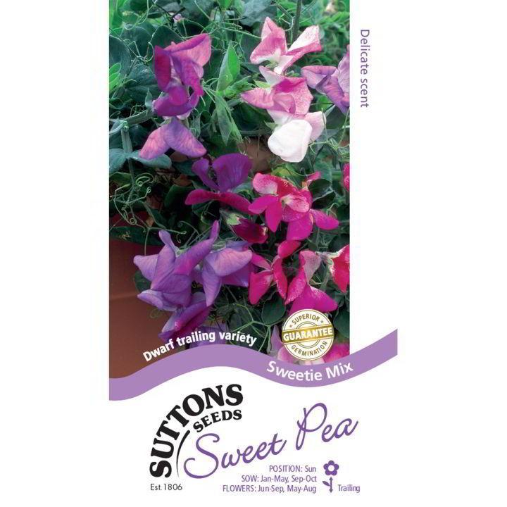 Sweet Pea Seeds - Sweetie Mix