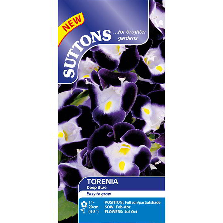 Torenia Seeds - Deep Blue