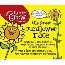 The Great Sunflower Race