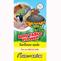 Grow the sunflower with the biggest head! The flower heads can grow up to a massive 50cm (20) wide on strong, sturdy stems. But it is after the flower