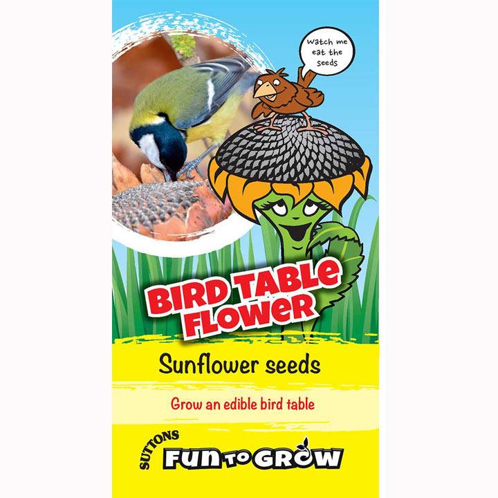 Sunflower Seeds - Bird Table Flower (Titan)