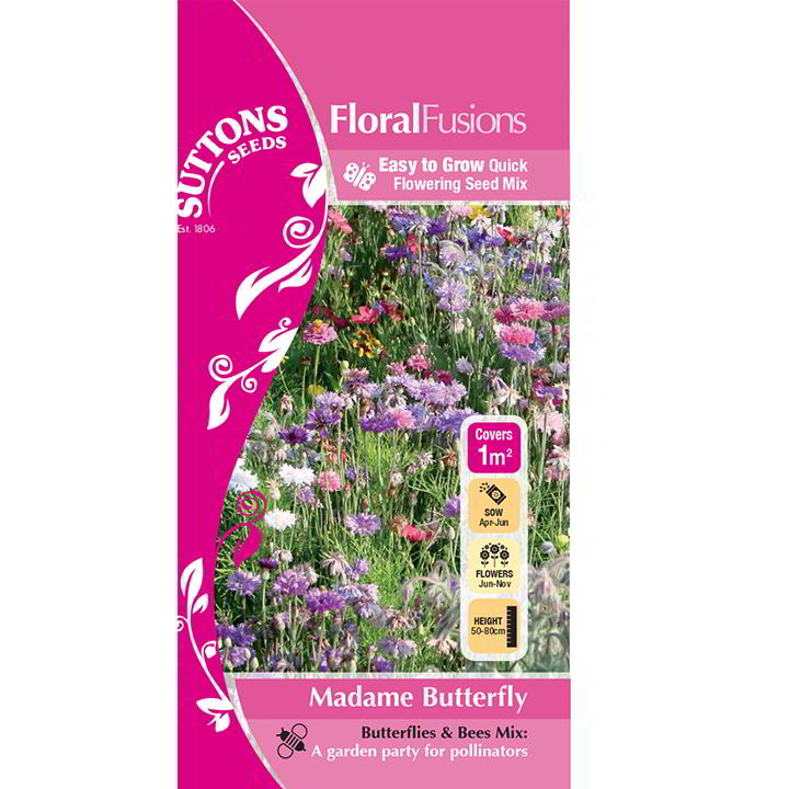 FloralFusions Seeds - Madame Butterfly