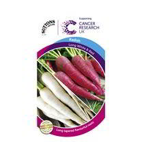 Radish Seeds - Long Scarlet & Long White Icicle