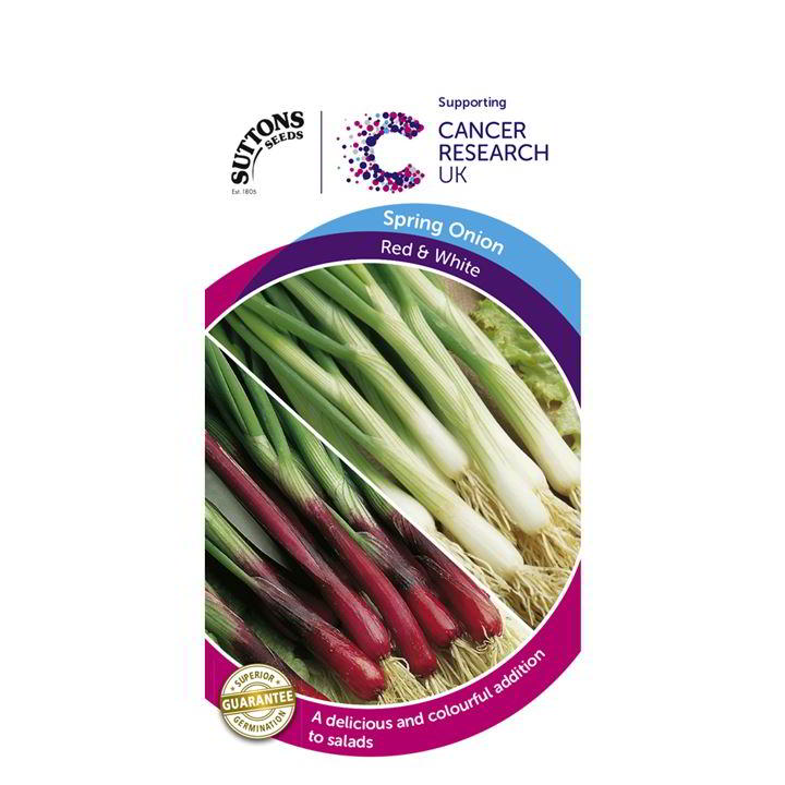 Onion (Spring) Seeds - Apache & White Lisbon