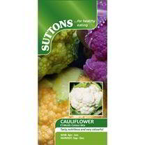 Cauliflower Seeds - F1 Multi-Colour Mix