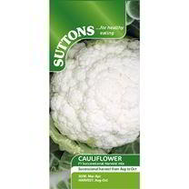 Cauliflower Seeds - F1 Successional Harvest Mix