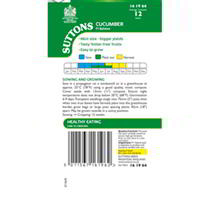 Cucumber Seeds - F1 Byblos