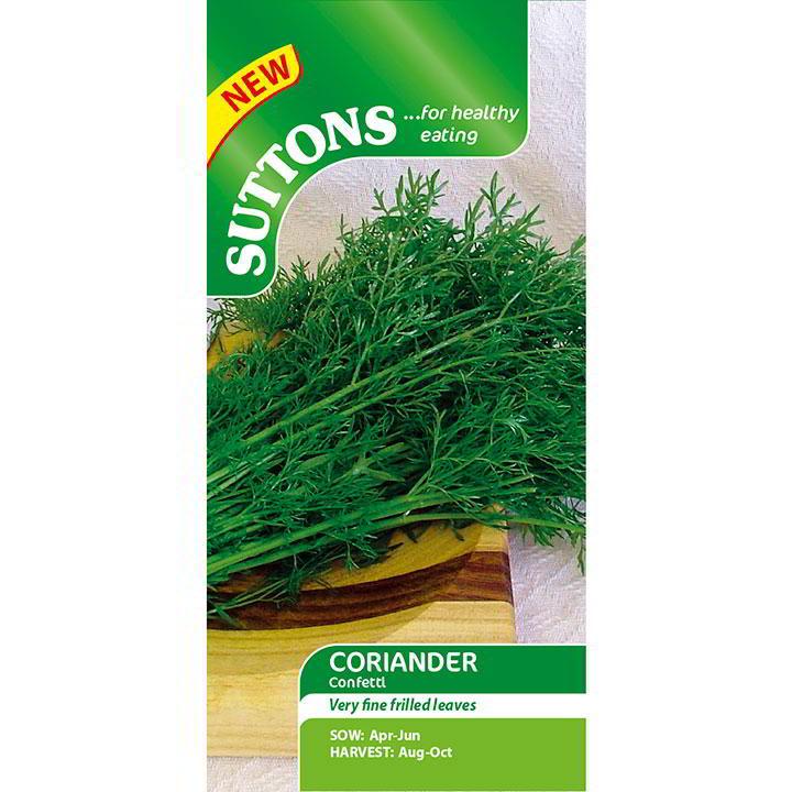 Herb Seeds - Coriander Confetti