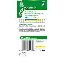 Lettuce Seeds - Mottistone