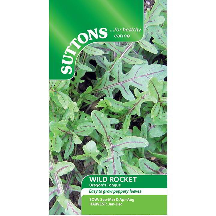 Leaf Salad Seeds - Wild Dragons Tongue