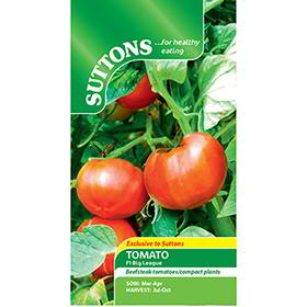 Tomato Seeds - F1 Big League
