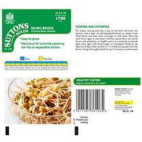 Beansprouts (Mung Bean) Seeds