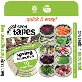 Seed Tape Collection - Spring & Autumn