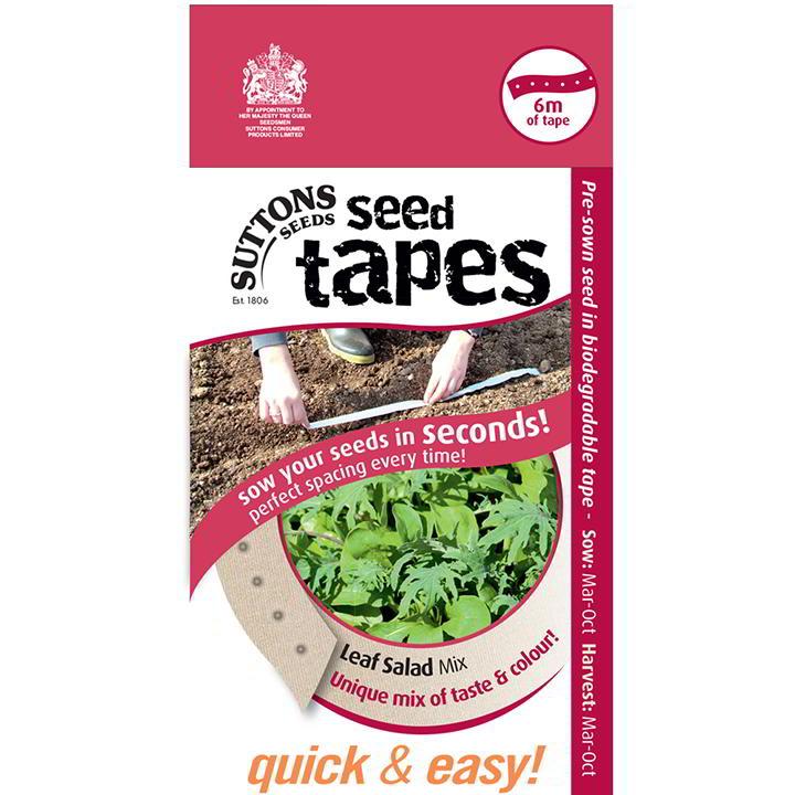 Seed Tape - Leaf Salad Mix