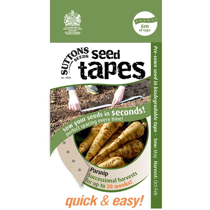 Seed Tape - Parsnip