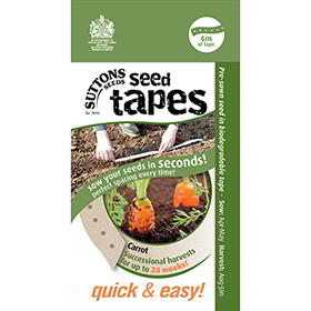 Seed Tape - Carrots