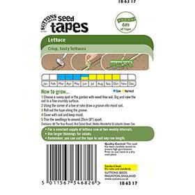 Seed Tape - Lettuce