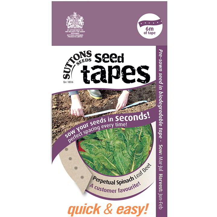 Seed Tape - Perpetual Spinach Leaf