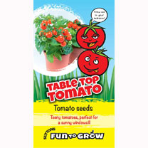 Easy to grow tomato with tasty red, cherry sized fruit. Try these bushy little plants that grow to just 30cm (12) high and wide. You can grow this var