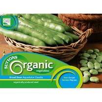 Bean (Broad) Seed - Aquadulce Claudia Organic