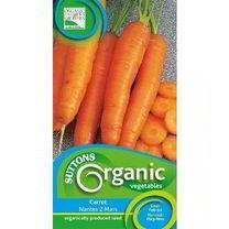 Carrot Seeds - Nantes 2 Mars Organic