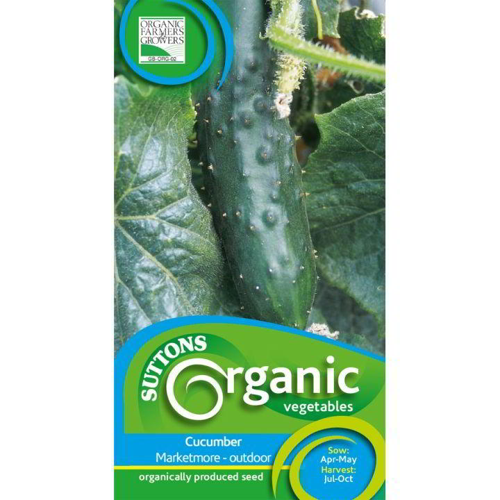Cucumber Organic Seeds - Marketmore