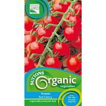 Tomato Seeds - Red Cherry Organic