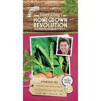 Part of the James Wong Homegrown Revolution Range. Nutty, asparagus-flavoured pods. Extremely popular in Asia and an expensive delicacy in UK oriental