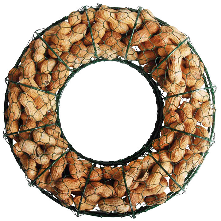 Peanut Wire Wreath