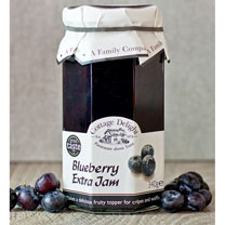 Blueberry Collection with blueberry extra jam