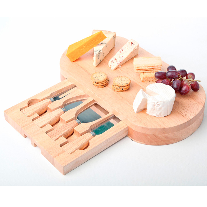 Oval Drawer Cheese Board