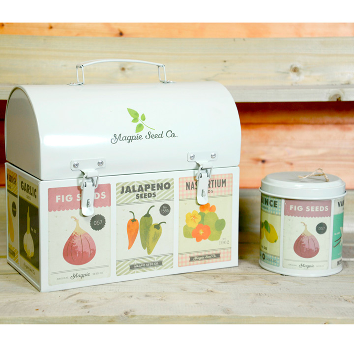 Roots & Shoots - Storage Box & String Tin