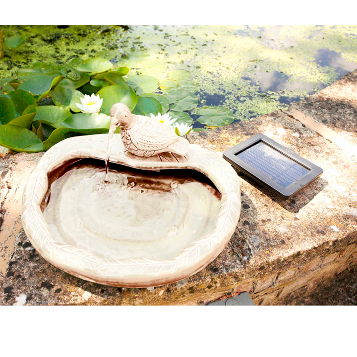 Ceramic Dove Water Feature