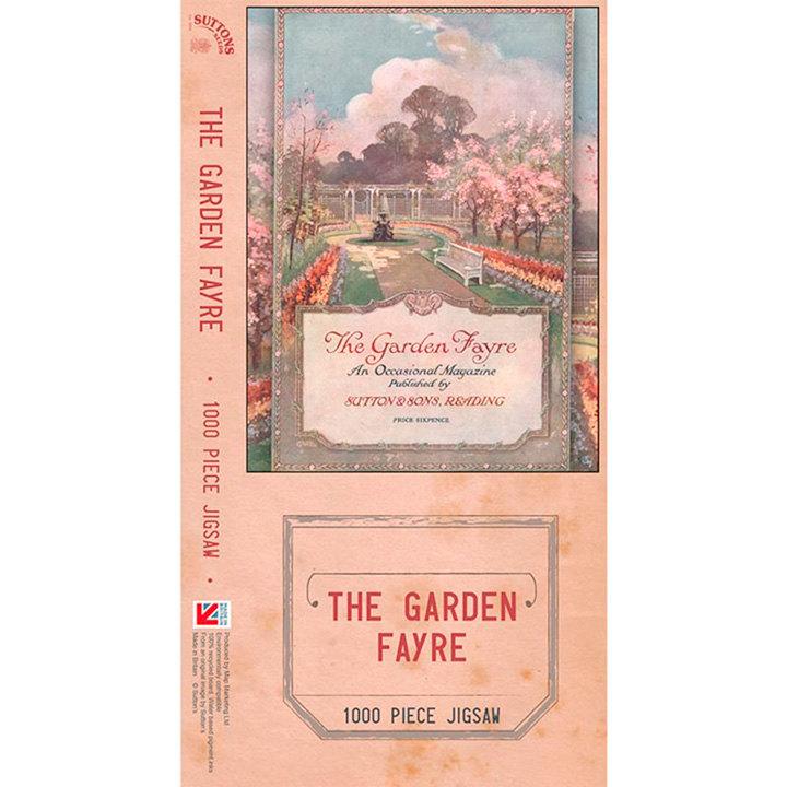 Jigsaw - Garden Fayre