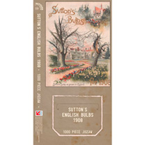 Jigsaw - Suttons English Bulbs 1908