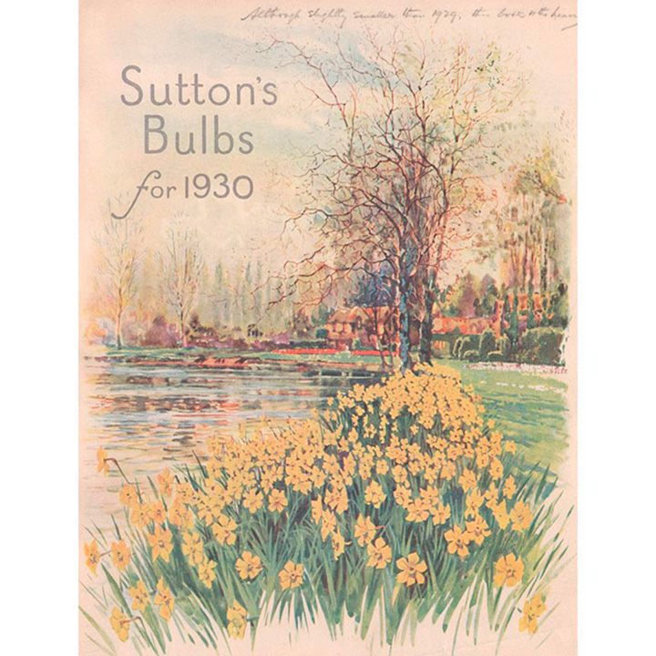 Jigsaw 1000 Pieces - Bulb Catalogue 1930