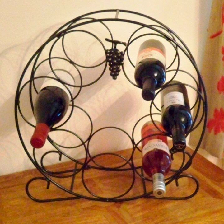 Heritage Wine Rack - 7 Bottles