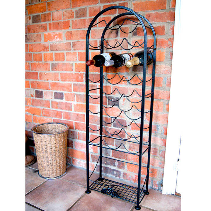 Heritage Wine Rack - 21 Bottles