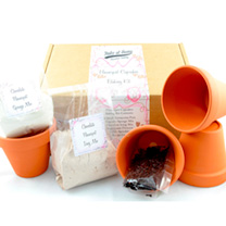 Flowerpot Kit - Chocolate Flowerpot Baking Kit