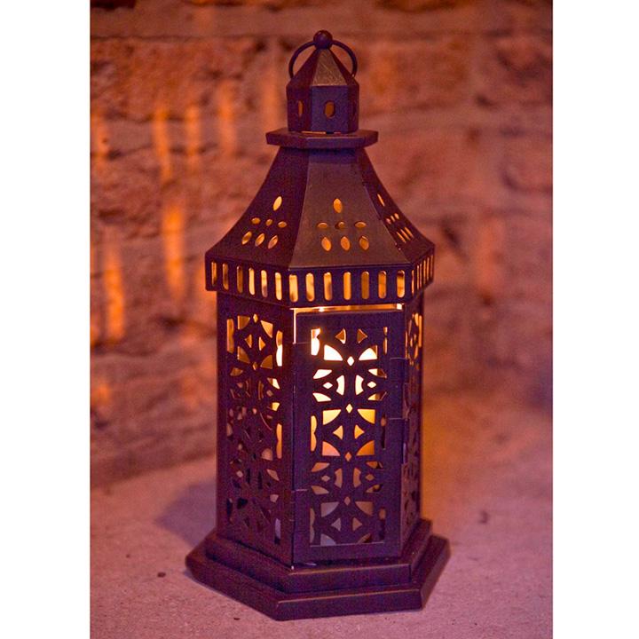 Moroccan Effect Lantern