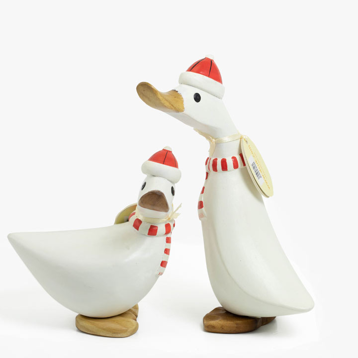 Red & White Ducks